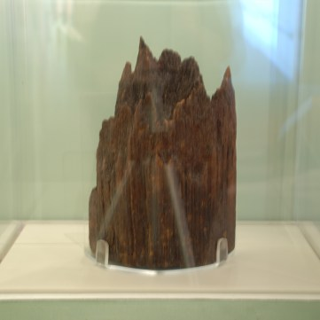 Remnant of log from Ft. Necessity, c. 1754