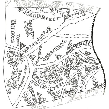 Transcription of etching on powder horn