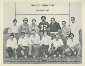 ALT:Franco's Italian Army Command Staff, 1972