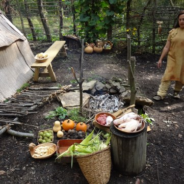 What's for dinner?, Meadowcroft Prehistoric Indian Village