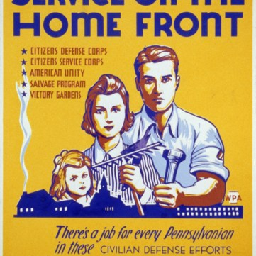 Service on the Home Front, We Can Do It! WWII