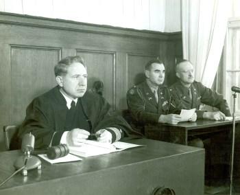 Judge Musmanno at Nuremberg