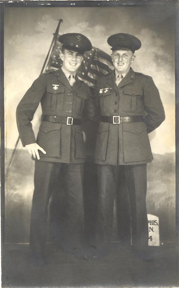 Bus Means (right), Memphis, Tenn., June 7, 1944