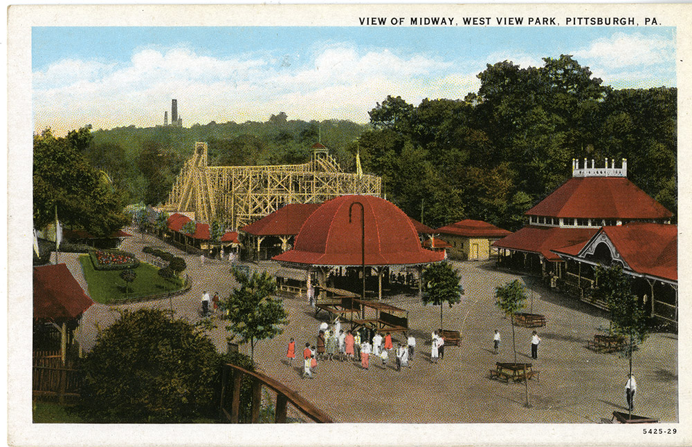 West View Park Postcard