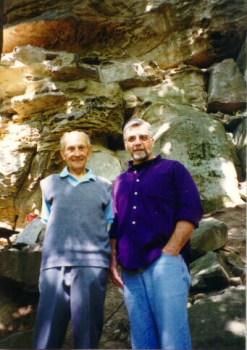 Albert Miller & Dr. Adovasio