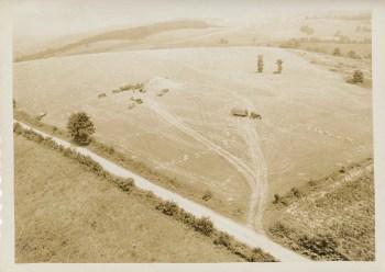 Dean Fullerton's 35-acre wheat field.