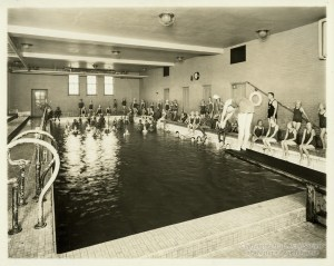 ALT:Schaeffer Elementary School in Crafton Heights Physical Education Class. Pittsburgh Public School Photographs, MSP 117, Detre Library & Archives, Heinz History Center