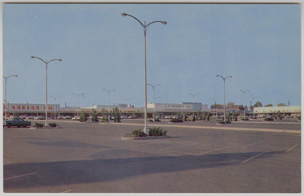 Monroeville Shopping Center postcard, Heinz History Center