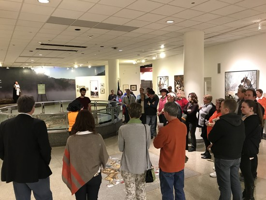 A tour at the Fort Pitt Museum
