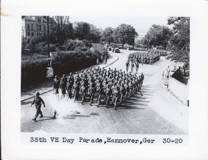ALT:35th VE Day Parade Hannover, Germany, Pittsburgh's WWII Photo Album