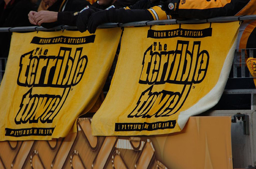 Piece of a Steelers Terrible Towel