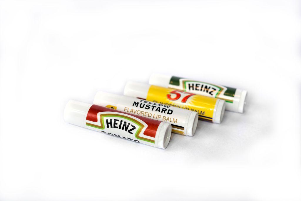 Heinz-Flavored Chapsticks