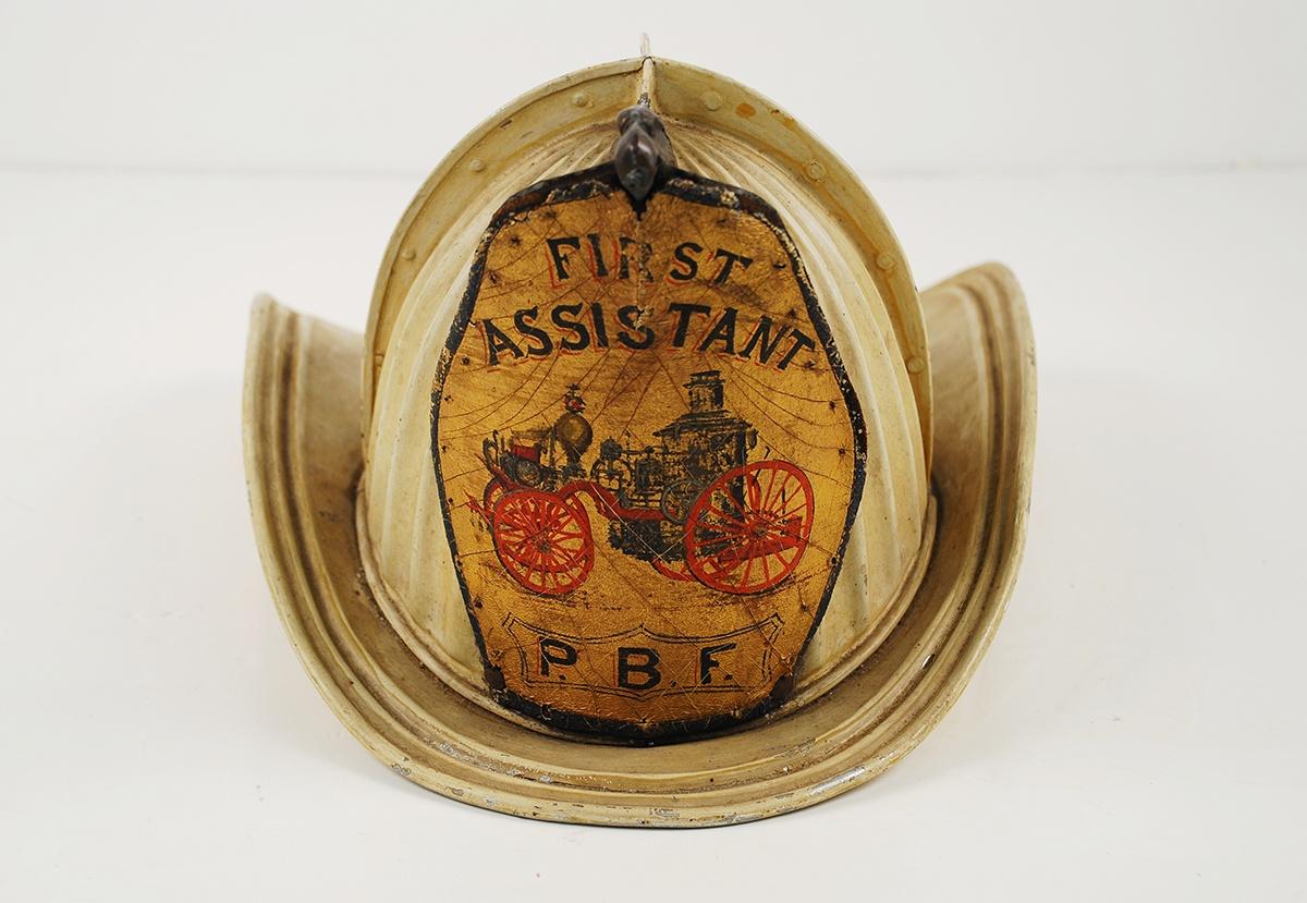 Firefighter's Helmet, c. 1889