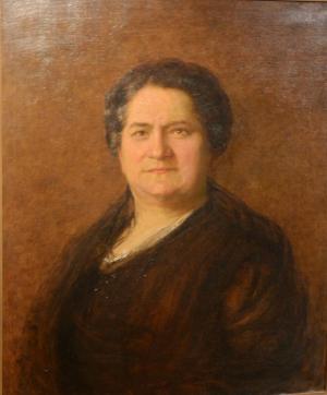 Portrait of Annie Jacobs Davis.