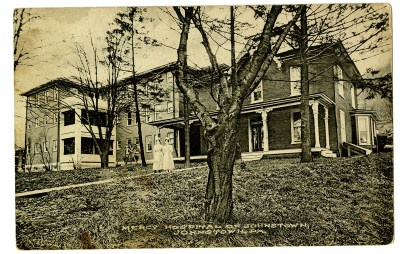The Sisters expanded their mission, establishing a Mercy Hospital in Johnstown, with a School of Nursing the following year.