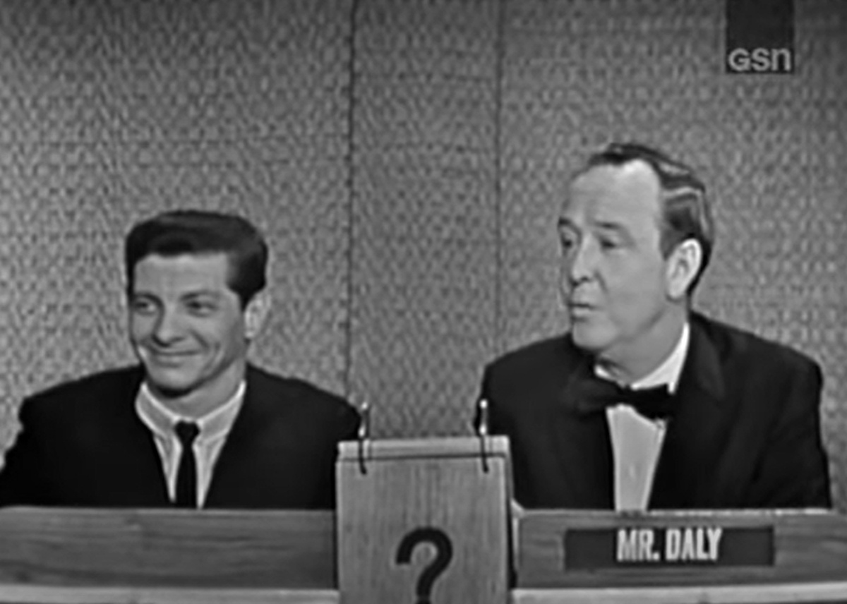 "Bill Hartack appearing on the CBS-TV game show ""What's My Line?"" May 10, 1964. Hartack won his fourth Kentucky Derby aboard Northern Dancer about a week earlier."