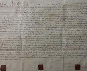 1794 Land Purchase Yorkshire, England