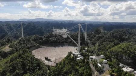 Nicht zu reparieren: Arecibo-Teleskop wird außer Dienst genommen