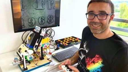 Lego-Mikroskop für Hochglanzaufnahmen