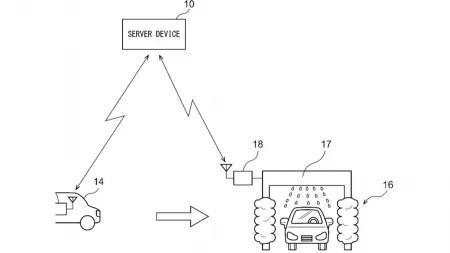 Patentantrag: Auto findet sich schmutzig und fährt in die Waschstraße