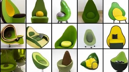 Algorithmus zeichnet Beschreibungen: Ein Avocado-Sessel als Zukunft der KI