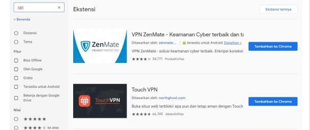 Cara Menggunakan VPN Di PC