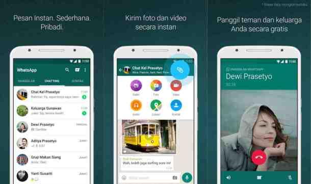 whatsapp untuk video call