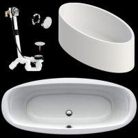 Ideal Standard Oval Badewanne Life2 190x80 cm aus Acryl ...