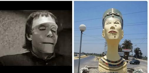 تمثال نفرتيتي المشوه (3)