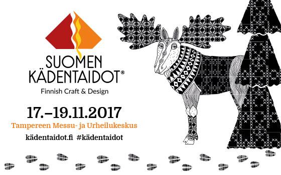 Helakka Suomen Kädentaidot messuilla 2017