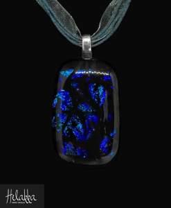 Helakka lasikaulakoru sininen