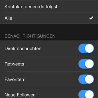 Einstellungen Tweetbot3