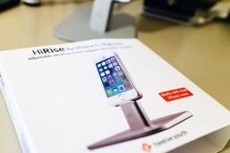 Das Dock ist kompatibel mit iPhone 5, iPhone 6(+) und iPad.
