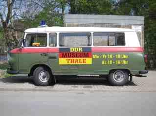 Das DDR-Museum Thale auf Rädern.