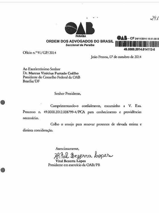Caso Gilberto decisão CF 01