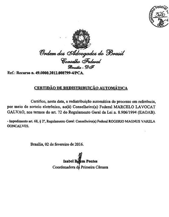 Caso Gilberto decisão CF 02