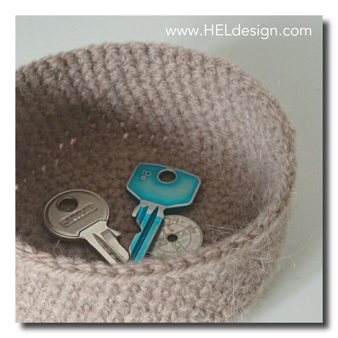 Crochet basket by HELdesign