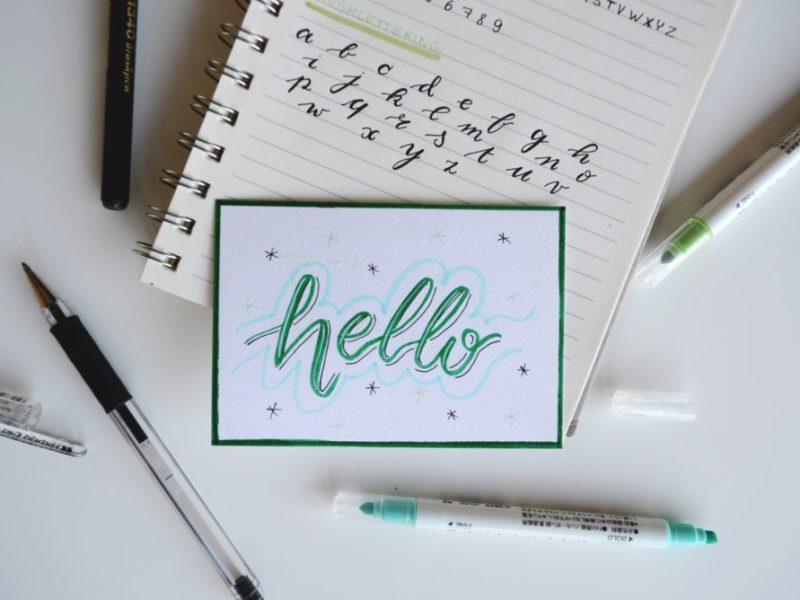 Merhaba dünya yazmak - hello world kodu