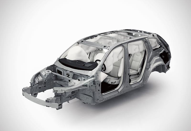 Volvo hava yastığı tasarımı