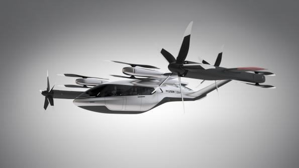 Hyundai hava taksi aracı