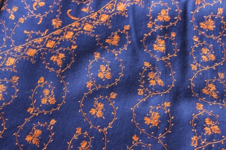 Embroidered Fabric from India