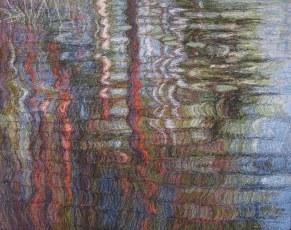 Erämaajärvi, 2007, 59 x 78 cm, myyty