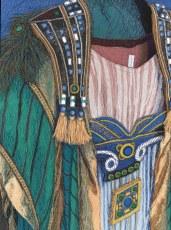 Aida - Amneriksen puku, 2012, 51 x 45 cm, vapaa