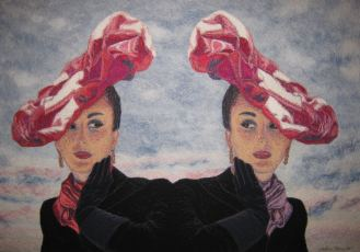 Hats, 2011, 85 x 110 cm, myyty
