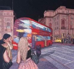 Piccadilly, 2011, 60 x 60 cm, myyty
