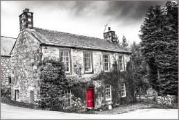 village house in New Abbey Dumfriesshire solway coast scotland
