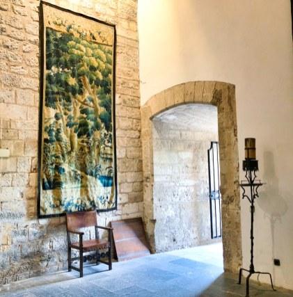 Almudaina Palace 2Palma Mallorca Empty Chairs