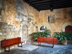 Almudaina Palace 7Palma Mallorca Empty Chairs