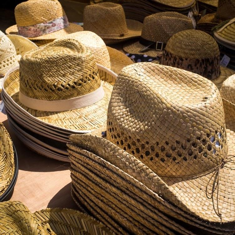 Straw Hats ©HelenBushe