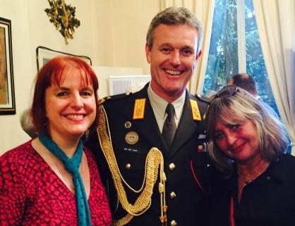 Avec Hans van der Louw et Jasmine Bentami